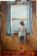 Salvador Dalì: Noia alla finestra