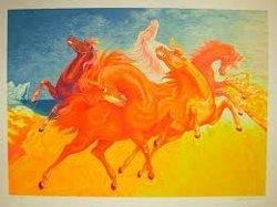 cavalli di luci