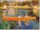 Pierre Auguste Renoir, The Seine at Asnière