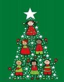 albero-di-natale-cartoon-bambini