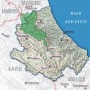 Mappa Parco Nazionale del Gran Sasso e Monti della Laga