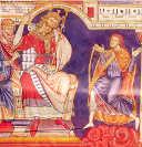 Davide suona alla corte di Saul