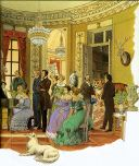Salotto musicale dell'Ottocento