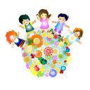 bambini-fiori